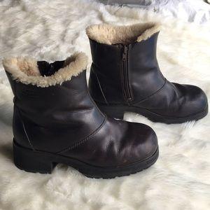 VTG 90s Platform UGG Australia Leather Boots